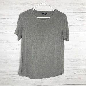 Light Heather Gray Short Sleeve Bexley Tee Shirt